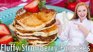 Strawberry Pancakes by Tatyana's Everyday Food