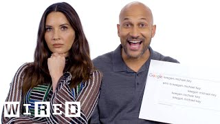 Video Keegan-Michael Key & Olivia Munn Answer the Web's Most Searched Questions | WIRED MP3, 3GP, MP4, WEBM, AVI, FLV November 2018