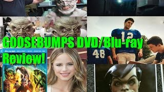 Video Goosebumps Movie DVD/Blu-ray Review! MP3, 3GP, MP4, WEBM, AVI, FLV Juli 2018