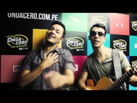 ¡El dúo colombiano Pasabordo llegó a Perú y visitaron Radio Onda Cero!