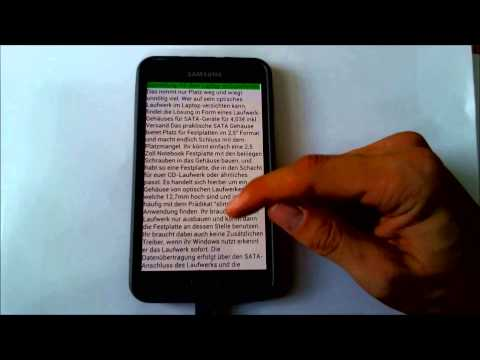 Video of The Reader Text-to-Speech App