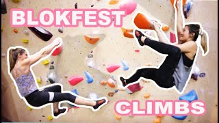 Blokfest Climbs and Annie's Back....is still bad by Bouldering DabRats