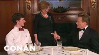 Video Conan Enrolls In Southern Charm School - CONAN on TBS MP3, 3GP, MP4, WEBM, AVI, FLV Februari 2019