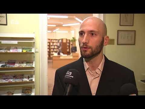 Csete György életútjáról tartott előadást Bodó Péter a könyvtárban
