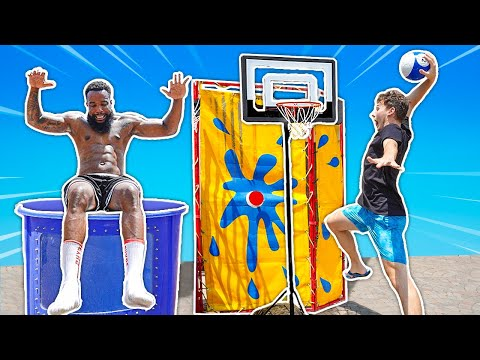 Make the Shot... Dunk the Tank! 2HYPE Basketball Carnival Games