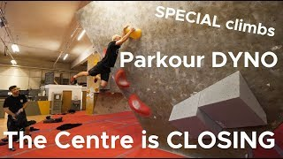 THE CENTRE IS CLOSING FOREVER! by Bouldering Bobat