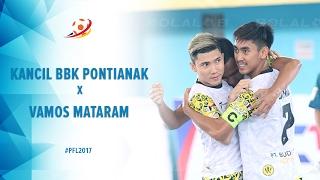 Video Kancil BBK Pontianak vs Vamos Mataram - Highlight Pro Futsal League 2017 MP3, 3GP, MP4, WEBM, AVI, FLV Mei 2017