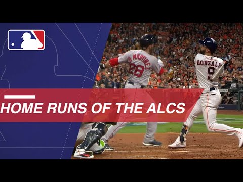 Video: All the Red Sox and Astros home runs from the ALCS