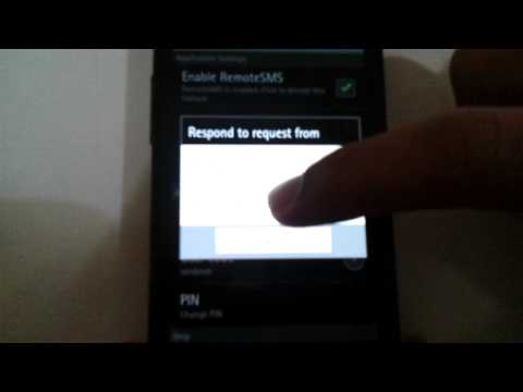 Video of RemoteSMS