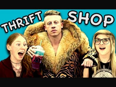 """elder - Thrift Shop Bonus: http://youtu.be/k-bpKjQBtyw NEW Vids Sun & Thurs! Subscribe: http://bit.ly/TheFineBros Watch all episodes of REACT: http://goo.gl/4iDVa Wa..."