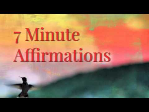 POWERFUL 7 Minute Affirmations - Pre Wedding Stress