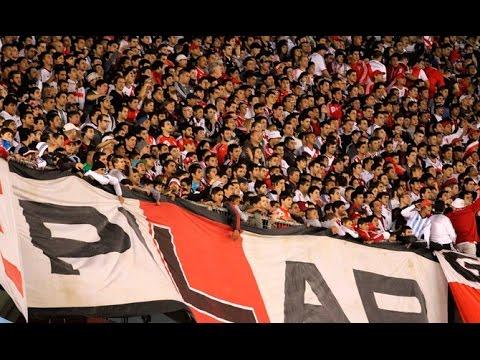 Video - El gol de Mora y el festejo de la gente vs. Lanús - Los Borrachos del Tablón - River Plate - Argentina