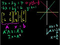 Matrices to Solve a System of Equations Video Tutorial