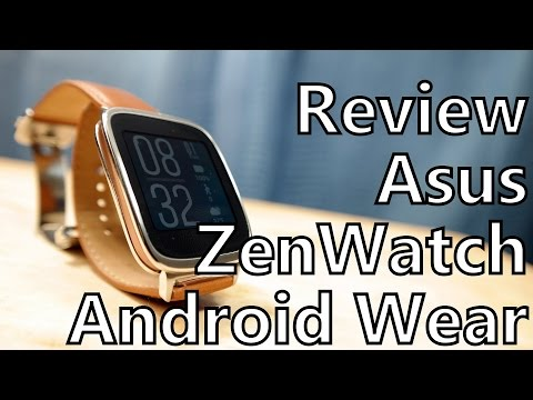 Smartwatch Review: Asus ZenWatch Running Android Wear 5.0 Lollipop