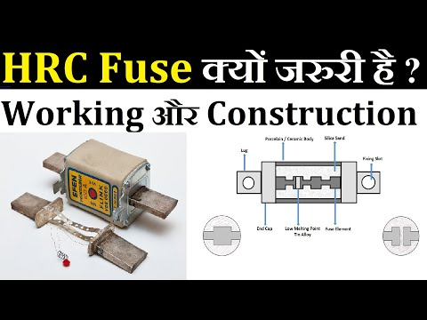 HRC Fuse in Hindi, HRC Fuse Working, Construction and Uses in Hindi. #HRCFuse #LearnEEE