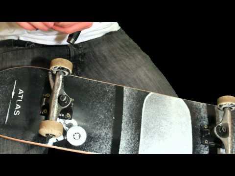 Skateboard Deck Setup (видео)