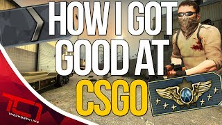 """HOW I GOT GOOD AT CS:GO. Today we talk about how i got good at csgo. Let me know what you guys think of my story on how i got good at cs:go. Also leave a comment on your story of how you got good at csgo in the comments below.Best Place to buy cheap csgo skins is   https://www.rpgah.com/, Use code""""JOB""""get a 3% discount!GIVEAWAY - https://gleam.io/LXWRt/win-awp-hyperbeast-ft★ Patreon - https://goo.gl/cZcV7R★ 2nd Channel - https://goo.gl/RyvCmn★Snacphat - TheChosen1inc★Instagram - https://goo.gl/cv1hvL★Twitch - http://goo.gl/kRBgH2★Twitter - https://goo.gl/xUmcOE★Steam Group - http://goo.gl/Radyih (Join For Updates)★Intro Song - https://goo.gl/L8qshP★Outro Song - https://goo.gl/sPD2Q1★Config - http://goo.gl/vCXbiKThechosen1inc is a cs go channel focused on talking about everything cs go. The focus is bringing you the latest cs go news and also opinions on the latest things going on in the counter strike global offensive community. Feel free to subscribe if your interested in counter strike global offensive content and the opinions of an angry man.Johnny BumbleFuck Is Always Watching ༼◕_◕༽Contact Email - Schonewise@gmail.com"""