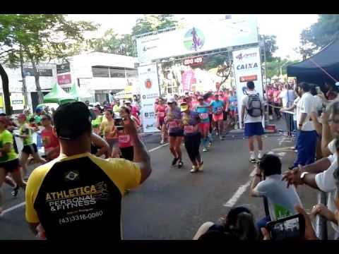 Largada da 8� Corrida da Mulher - Maring� Park
