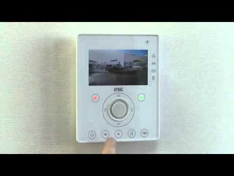 Interphone vidéo Urmet NOTE : principales commandes