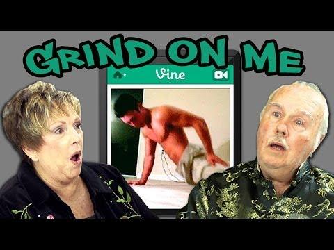 ELDERS REACT TO GRIND ON ME!