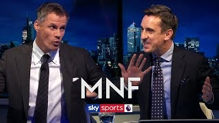 Video Gary Neville & Jamie Carragher's hilarious analysis of their own performances at Kompany testimonial MP3, 3GP, MP4, WEBM, AVI, FLV September 2019