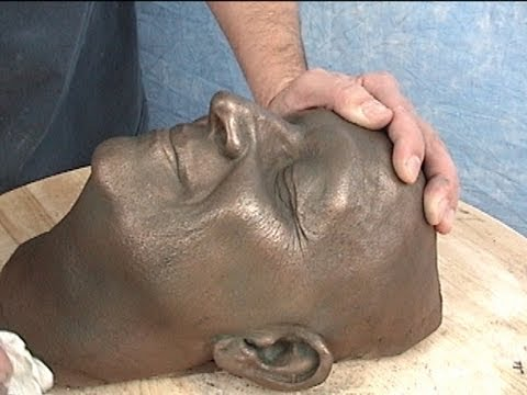 cast - This is a method of casting a hollow cold-cast bronze piece. We used EZ Flo 120 to