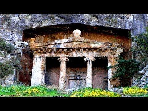 Türkiye'nin En Güzel 10 Kral Kaya Mezarı