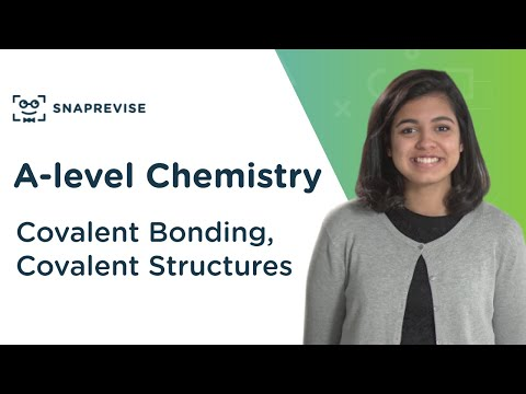 Covalent Bonding & Structures | A-level Chemistry | OCR, AQA, Edexcel