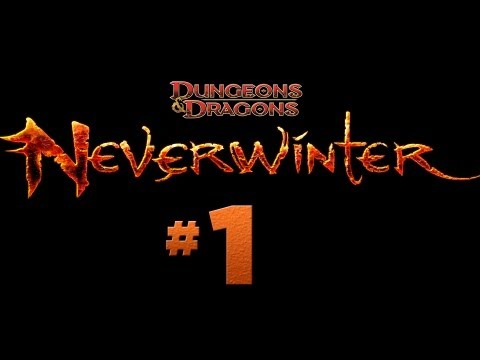 Neverwinter – #1 Character Creation, Drow Trickster Rogue (Open Beta Gameplay)