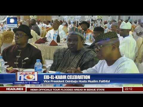 Eid-El-Kabir Celebration: Vice President Osinbajo Hosts Muslim Faithful