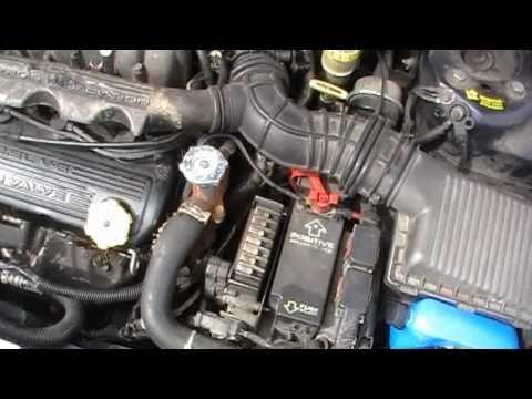 98 Chrysler Cirrus Radiator Hose Repair DIY