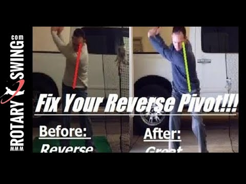 How to Fix Your Golf Reverse Pivot Garaunteed!!
