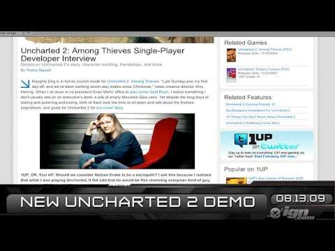 preview-IGN Daily Fix, 8-13: Zune HD, Uncharted 2 & Rage (IGN)