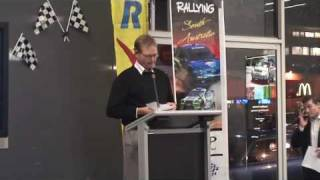 Wirrabara Australia  city pictures gallery : 2009 SA Rally Season Launch - Mark Scrymgour - Wirrabara Rally