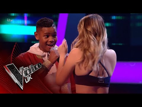 Rhianna Abrey Vs Donel Mangena - 'Rain': The Battles | The Voice UK 2018 (видео)
