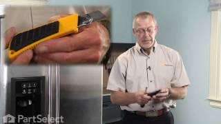 Refrigerator, Ice Maker Repair - GE Water Valve Repair