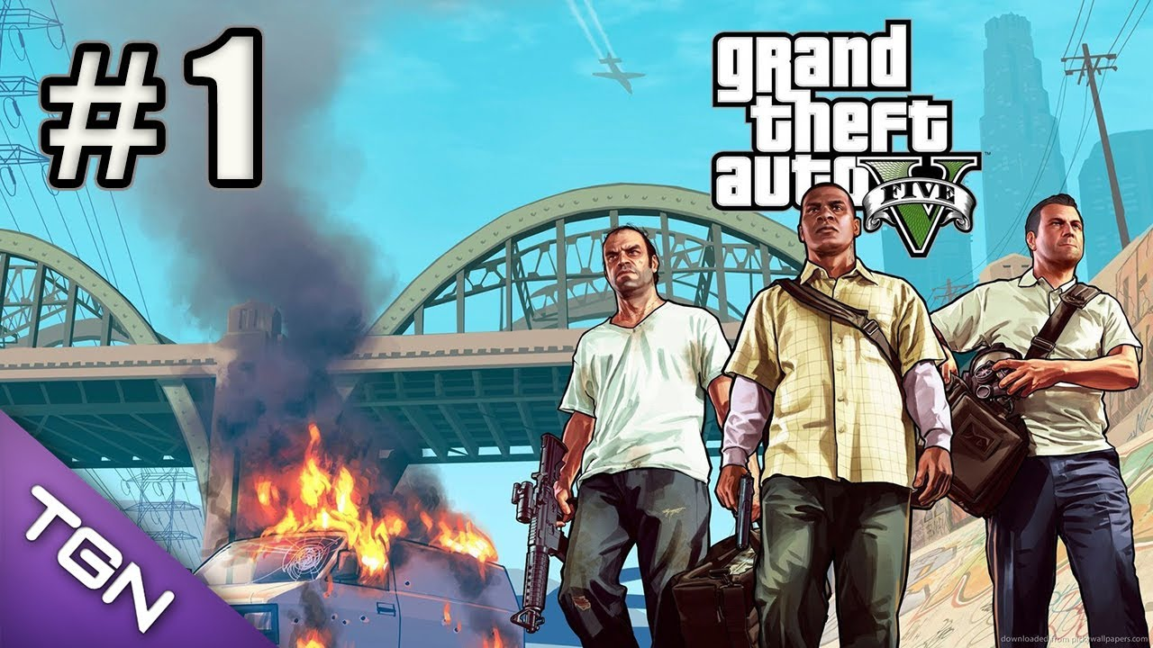 GTA 5 Gameplay en Español – Capitulo 1 – HD 720p