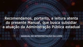 Manual de Interpretação da LGPD