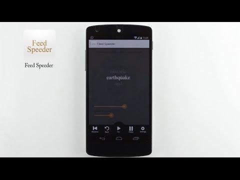 Video of Feed Speeder