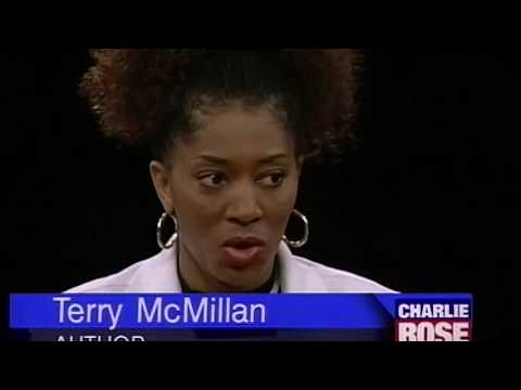 """Author Terry McMillan interview on """"How Stella Got Her Groove Back"""" (1996)"""