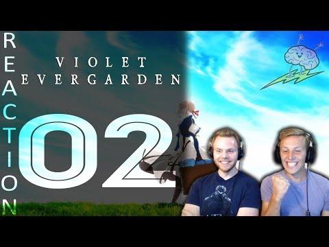 SOS Bros React - Violet Evergarden Episode 2 - Communication is Key