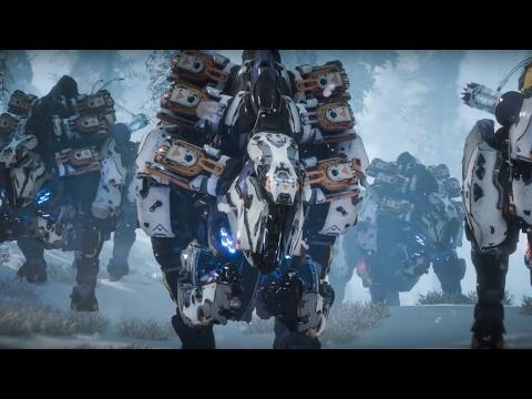 Horizon: Zero Dawn Official The Machines: Behemoth Trailer