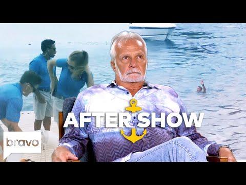 Who Saved Ashton Pienaar's Life?   Below Deck After Show Part 1 (S6 Ep11)   Bravo
