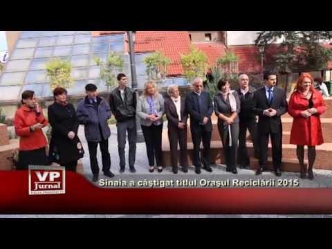 Sinaia a castigat titlul Orasul Reciclarii 2015