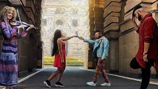 הזמרים סאבלימינל, דאימונד פלטנומז ומירי בן-ארי - איך שהיא רוקדת