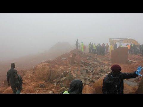 Σιέρα Λεόνε: Βιβλική καταστροφή με εκατοντάδες νεκρούς