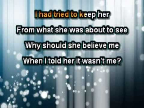 Shaggy Feat. Rikrok - It Wasn't Me (with Rap) [Karaoke]
