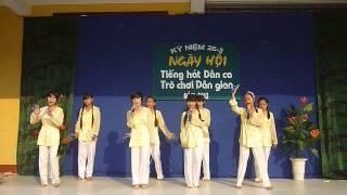 Lí Đất Giồng:  Ngày Hội Tiếng Hát Dân Ca - Trường Lâm Quang .