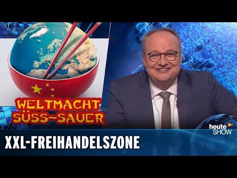 Welthandel: Deutschland kann es sich nicht leisten, China zu ärgern | heute-show vom 20.11.2020