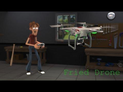 AldricLopez - Fired drone